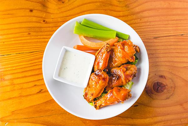 Shingletown Wings plate